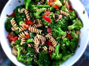 Raisin Broccoli Pasta Toss