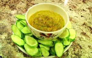 Raw Vegan Mango Basil Sauce