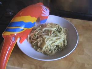 Citrus Squid Linguine