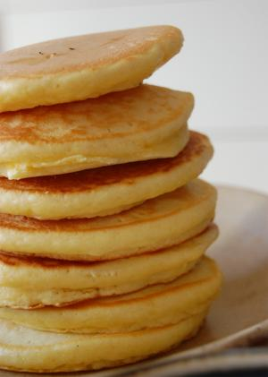 Powerhouse Honey Pancakes