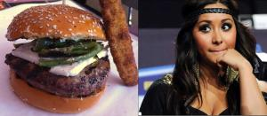 Snooki's baby has a burger of its own now.