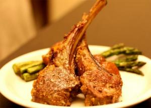 Lamb Rib Roast Dijon