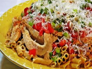 Breaded chicken pasta recipes