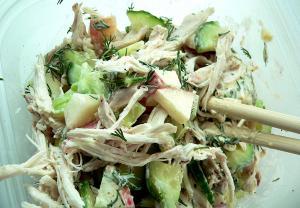 Low Fat Sante-Fe Chicken Salad