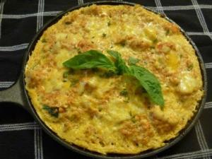 Cheesy Cauliflower Frittata Recipe