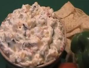 Cheesy Mexican Ranch Dip