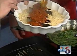 Grilled Swordfish Steak with Orzo Pasta