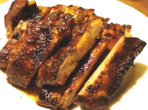 Orange-Glazed Ribs
