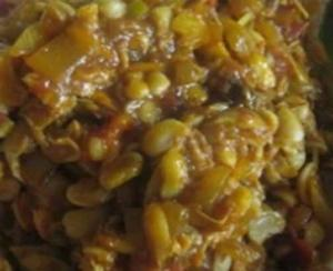 Beans Stew - Red Red - Ghanaian Food