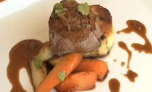 Fillet of Beef with Port Wine Sauce