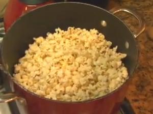 Quick Stove Top Popcorn