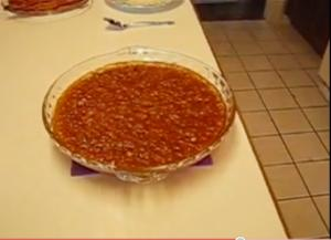 Betty's Crispy Bacon-Topped Baked Beans