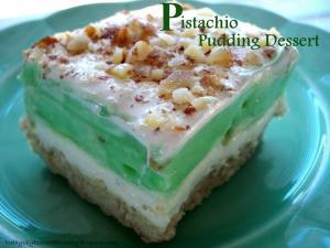Pistachio Pudding Desserts