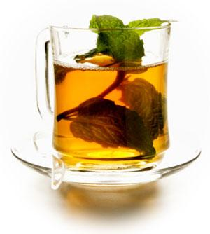 A cup of herbal tea is ideal for relaxation