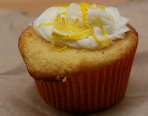 Little Two Egg Muffin Lemon Cakes