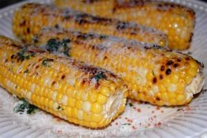 Healthy Baked Corn On The Cob