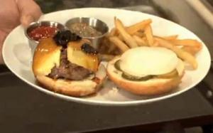 Black Truffle & Foie Gras Cheeseburgers : Linton Hopkins