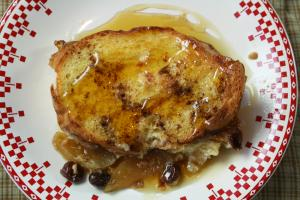 Holiday Morning French Toast