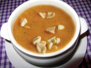 Curried Peanut Butter Soup