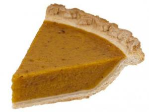 Lemon Rum Squash Pie