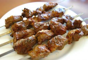 Agen Style Lamb Kebabs