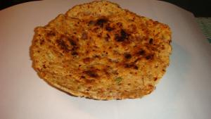 home made coconut rotti-srilanka