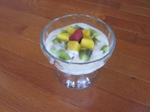 Raw Fruit Parfait