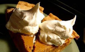 Butterscotch Custard Pie