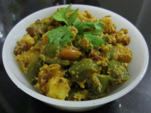 Mouth Watering Capsicum Kayras