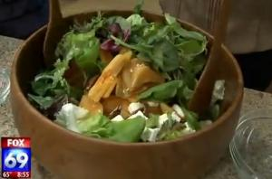 Tasty Persimmon Salad
