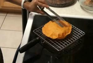 Homemade Tomato Tortillas