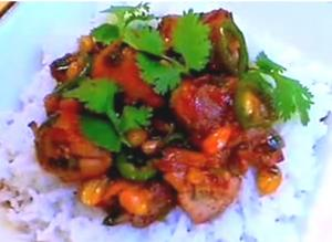 Vietnamese Style Caramelized Chicken
