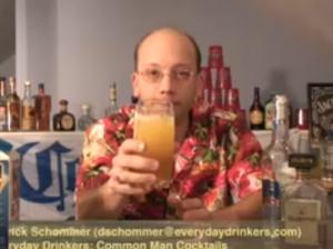 The Amaretto Stone Sour Cocktail