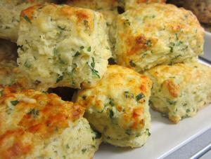 Scallion Cheddar Cheese Scones