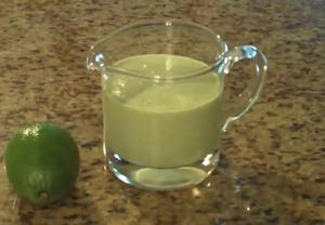 Lime and Cilantro Dressing
