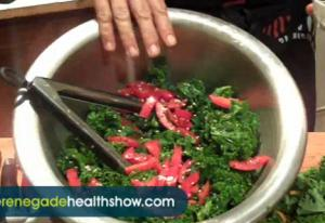 Raw Food - Yummy Asian Kale Salad