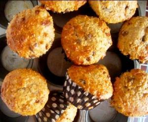 Apple Butter Oat Bran Muffins