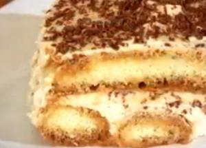 Quick and Easy Tiramisu