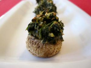 Easy Healthy Stuffed Mushrooms