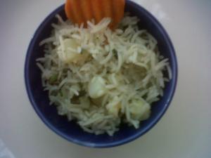 Pudina Batata Rice