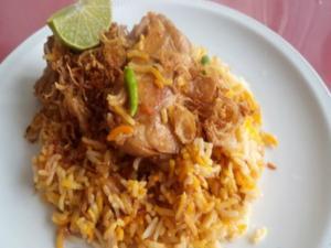 Chicken Biryani (Kenyan Style)