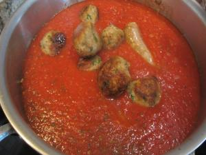 Spaghetti (Pasta) Sauce and Meatballs