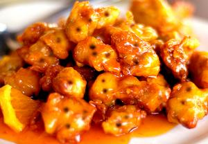 Mustard Orange Chicken