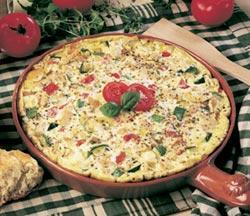 Zucchini Mushroom And Egg White Frittata
