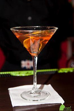 Anejo Manhattan Cocktail