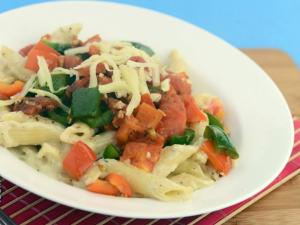 Pasta and Vegetable Casserole