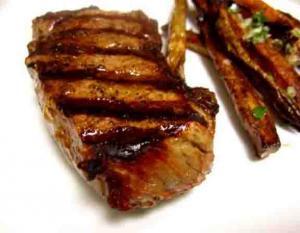 Charcoal-Broiled Steak