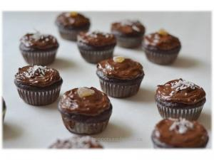 Chocolate and Black Coffee Baked Cupcakes