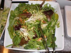 Lamb's Lettuce and Asparagus Salad