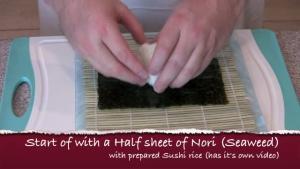 How to Make Unagi Eel Roll
